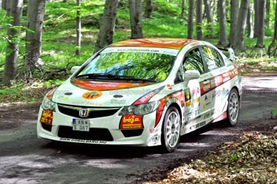 45.Juhász Csaba,Juhász Zsolt Honda Civic Type-R FD2 (P/13)