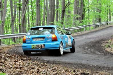213.Györkö József,Gálik Kata Honda Civic