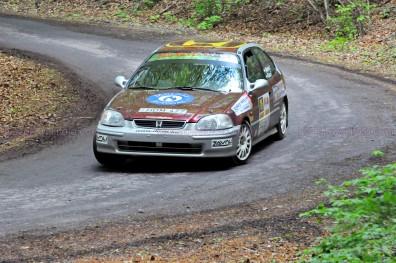 215.Molnár Ferenc,Kása Ferenc Honda Civic VTI