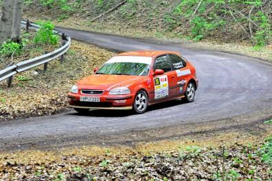 216.Szepesi Marcell,Gondos Péter Honda Civic